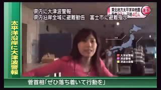 Japan 2011 Earthquake on March 11 (footage by TV stations and residents)