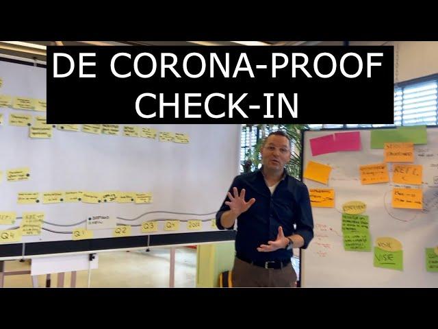 De corona-proof check-in