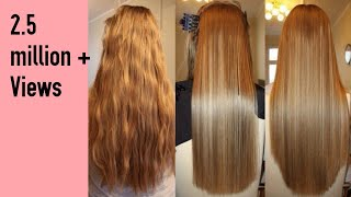 How to get silky smooth hair at home in 30 minutes|DIY hair spa at home|hair mask for smooth hair
