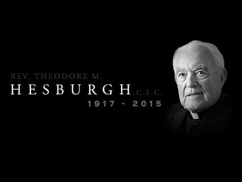 Notre Dame: The Autobiography of Theodore M Country Hesburgh God