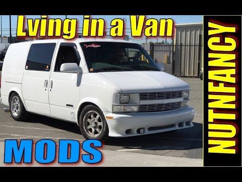 Living in A Van: Mods to Vehicle!