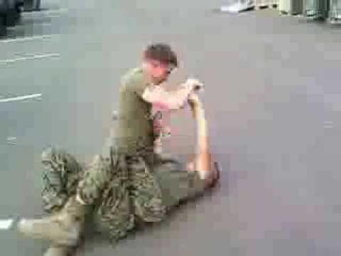 Marine corps T-bag