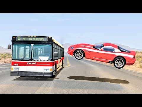 Realistic High Speed Crashes #32 - BeamNG Drive