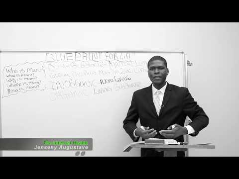 The Internal Makeup of Man! The Principles of Conversion