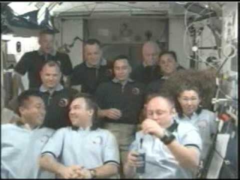 President Obama and Students Talk with Crew of ISS