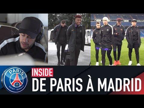 DE PARIS A MADRID with Neymar Jr, Kylian Mbappé, Edinson Cavani