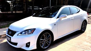 Goodbye to my 2012 Lexus IS250 F Sport Walkaround