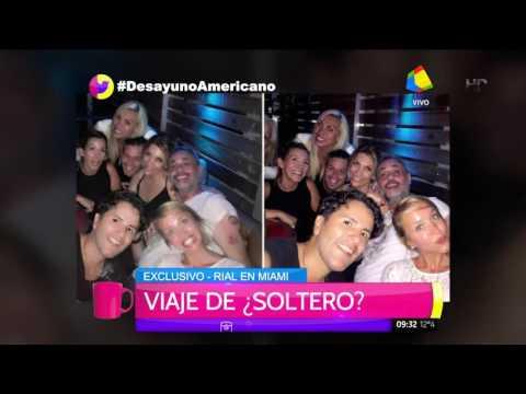 Jorge Rial con nuevo amor en Miami: su tuit y más imágenes