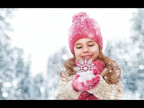 Белые снежинки кружатся с утра � Новогодние песни для детей