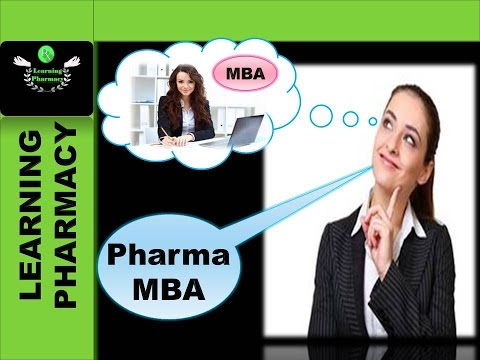 MBA IN PHARMACEUTICAL MANAGEMENT-THE MOST DEMANDED MANAGEMEN