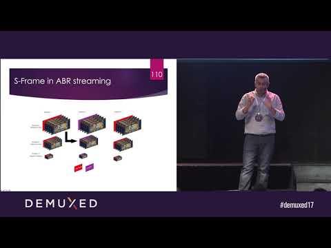 Tarek Amara - S-Frame in AV1: Enabling better compression for low latency live streaming.