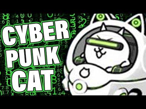 EVOLVING CYBERPUNK CAT (Battle Cats)