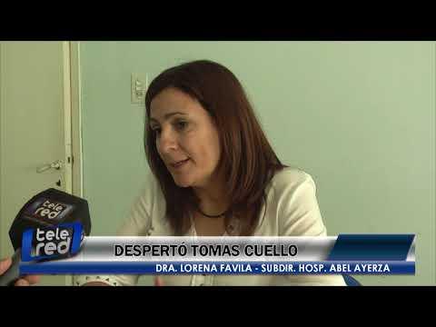 Despertó Tomas Cuello - Dra. Lorena Favila
