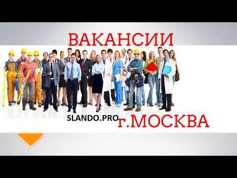 Найти работу в Москве  вакансий SlandoPro