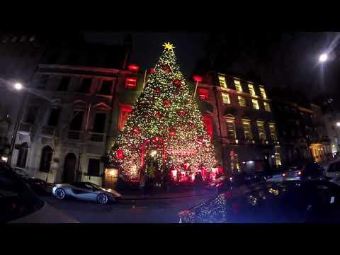 London Christmas Lights 2018.Новогодние огни Лондона 2018