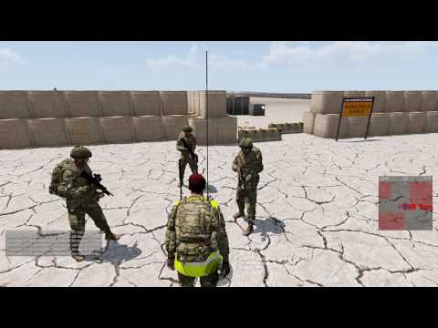 ArmA 3 - 1 Platoon Qualification 05/04/17 - 6th Airborne Division British Milsim