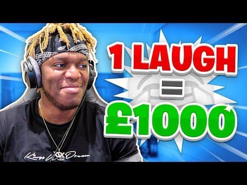 1 Laugh = $1000