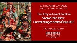 Ezel Akay ve Levent Kazak ile Sinema-Tarih İlişkisi & Hacivat Karagöz Neden Öldürüldü? KTS #83