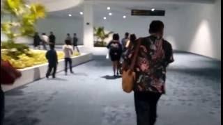 Suasana kedatangan di Terminal 3 Ultimate Bandara Soekarno Hatta Cengkareng