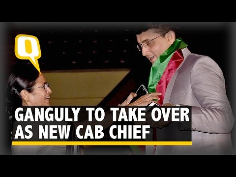 Sourav Ganguly to Take Over As New CAB President