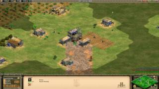 aoe 2 hd how a new player can fast castle easy boom knight rush