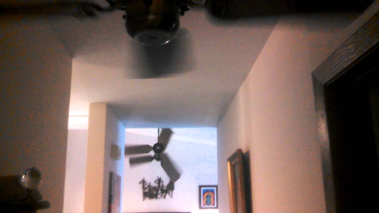 Ceiling Fans In My House : Video tour of ceiling fans installed in my house