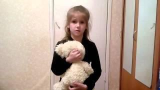 Стихотворение о войне ДО СЛЁЗ!!!Читает Валерия, 6 лет.