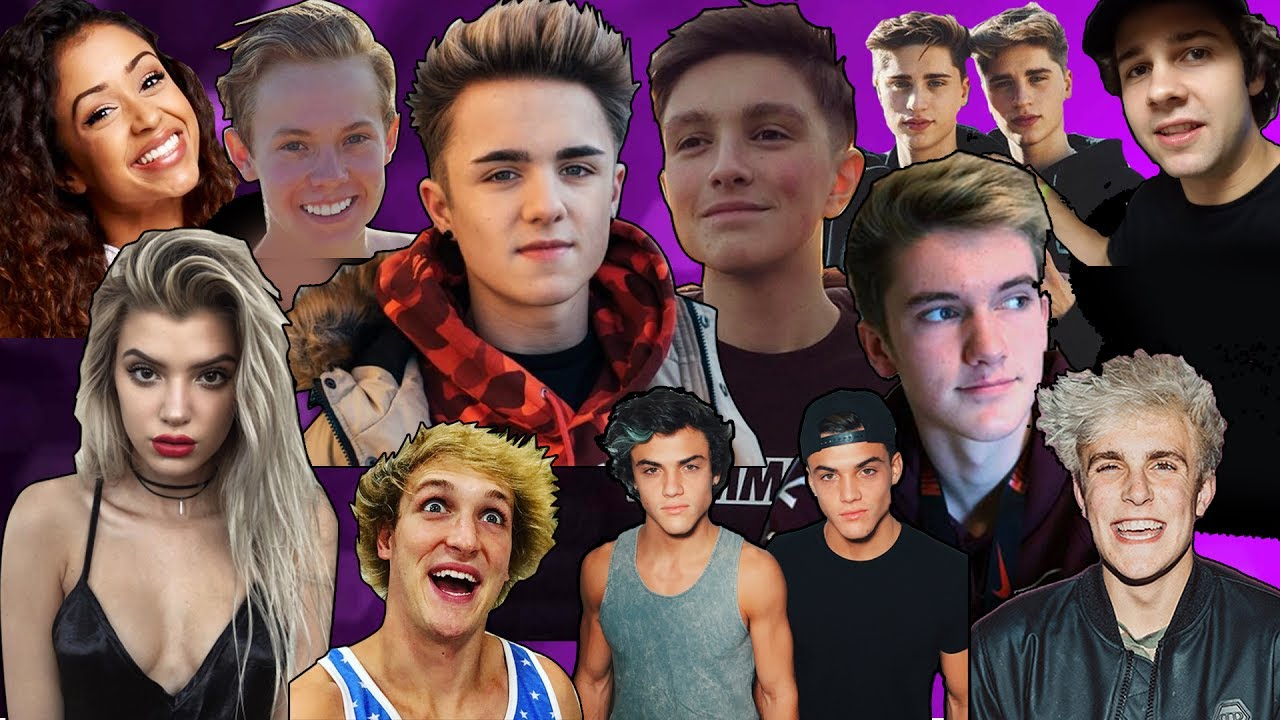 Famous youtubers collage images for Best group pictures