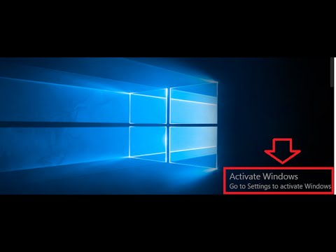 disable windows 10 activation popup
