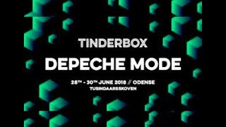 Depeche Mode live Tinderbox, Odense 28/6/2018 - full show