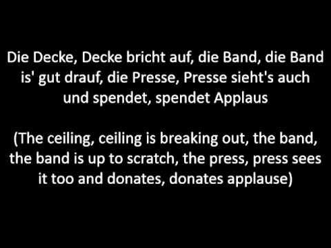 Die fantastischen Vier - Ernten was wir säen (English Translation)