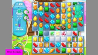 Candy Crush Soda Saga Level 487 NEW Frosted bears No Boosters