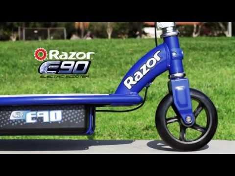 Электросамокат Razor E90. Электрический самокат для детей от 5 лет.