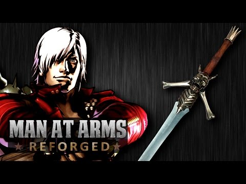 Dante's Rebellion Sword Devil May Cry  MAN AT ARMS: REFORGED