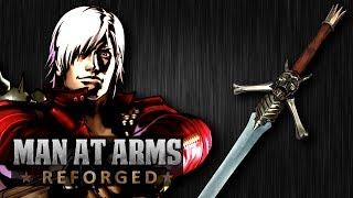 Dante's Rebellion Sword (Devil May Cry) - MAN AT ARMS: REFORGED(Which weapon will be next? ▻▻ Subscribe! http://bit.ly/AWEsub Every other Monday, our team of blacksmiths and craftsman will be building some of your ..., 2015-01-05T18:02:55.000Z)