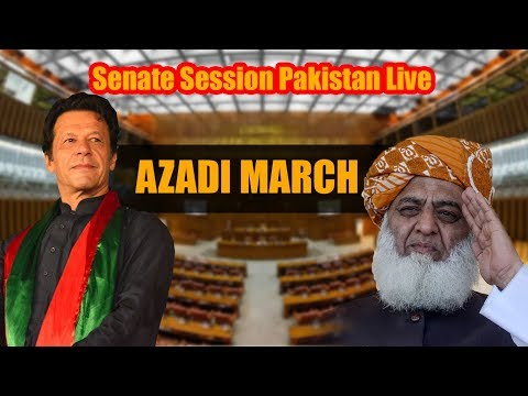 COMPLETE Senate Session Pakistan | Azadi March Islamabad | 12 November 2019