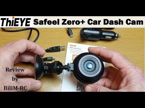 ThiEYE Safeel Zero+ Car Dash Cam Review - HD 1080P, G-Sensor, Parking Monitor, Motion Detection, WDR