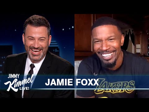 Jamie Foxx on LeBron, Trump Getting COVID & Living with 18 People