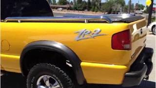 2003 Chevrolet S10 Pickup Used Cars Montrose CO