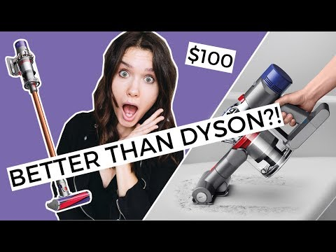 Better Than Dyson Or Chinese Knockoff?! Testing $100 Vacuum From Gearbest!
