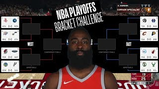 NBA PLAYOFF PREDICTIONS 2018 (BRACKET)
