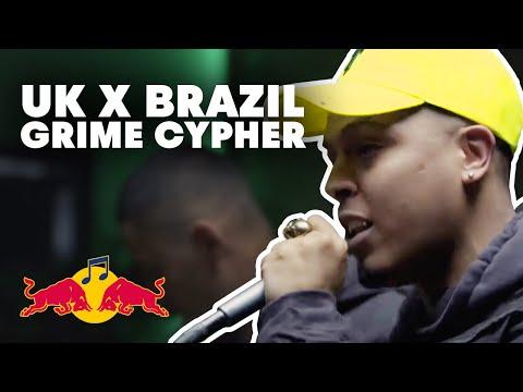Grime Cypher UK X Brazil | Fleezus, Febem, Jevon, Eyez + Yizzy