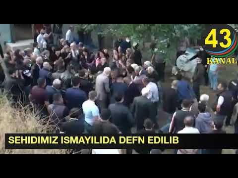 Şəhid Xəyyam Daşdəmirov İsmayıllıda dəfn edilib   (Kanala abune Olun xahis)