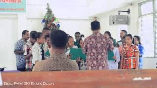 Paduan Suara PAM GKI Mahanaim Burere Doyo Baru, Sentani, Papua. Mp3