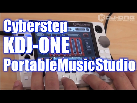 CyberStep KDJ-ONE Portable Music Studio Demo&Review [English Captions]