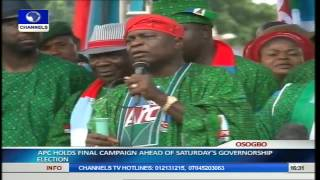 Osun Guber Election: APC Holds Mega Rally Pt.13