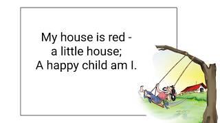 Ch01 - A Happy Child - Lesson -Grade 1 CBSE