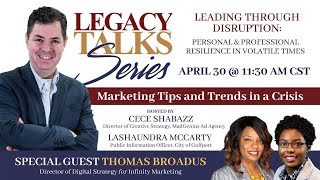 Let's Talk Marketing- Tips and trends during a crisis