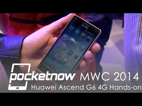 Huawei Ascend G6 4G Hands-on