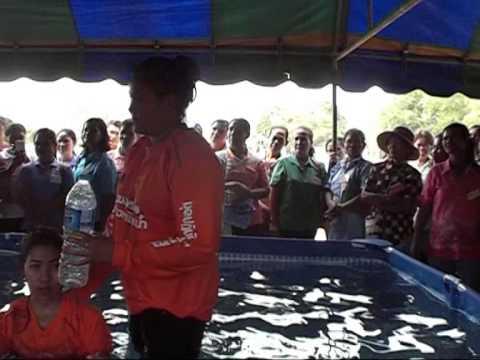 อบต โนนรัง ดูงานป้องกันเด็กจมน้ำ อบต ขนงพระ